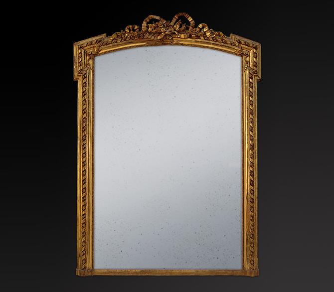 miroir dor miroir d coration. Black Bedroom Furniture Sets. Home Design Ideas